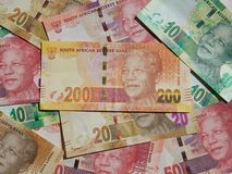 Money Notes - South Africa Royalty Free Stock Photo