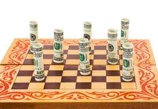 Free Money On Chess Board Royalty Free Stock Photo - 33762555