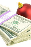 Money and Ornament royalty free stock photo