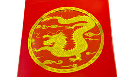 Money Packet (Ang Pau) , Dragon on red, 2012 Royalty Free Stock Photos