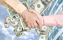 Money partnership Stock Photo