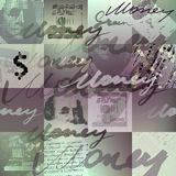 Money pattern Royalty Free Stock Photography