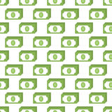 Money pattern seamless. Black for any design Stock Photo