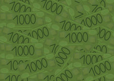 Money pattern Royalty Free Stock Photography