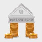 Money pension fund Stock Photos