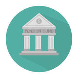 Money pension fund Stock Photo