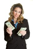 Money Person Royalty Free Stock Images