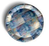 Money Pie Swiss Franc Royalty Free Stock Photos