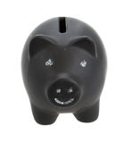 Money pig royalty free stock photos