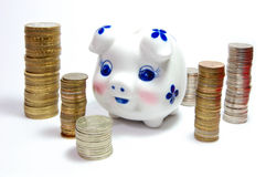 Money_piggy Image libre de droits