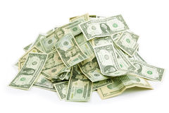 Money pile Royalty Free Stock Photography