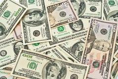 Money pile Stock Photos
