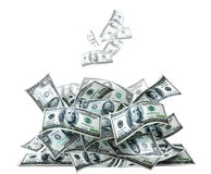Money pile Royalty Free Stock Image