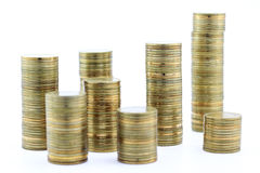 Money pile royalty free stock images