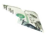 Money plane Stock Photo