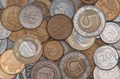 Money PLN background Stock Image
