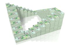 Money - 100 PLN - polish zloty Stock Photo