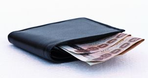 The money in pocket Stock Images