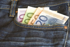 Money in Pocket Stock Photos