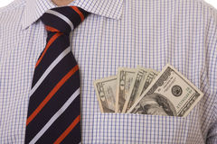 Money in the pocket Stock Photography