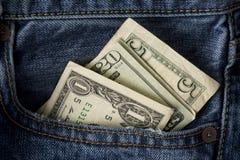Money in the Pocket stock photos