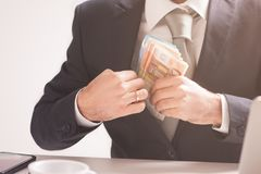 Money in pocket Royalty Free Stock Photo
