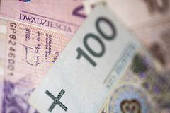 Money from poland Royalty Free Stock Photos