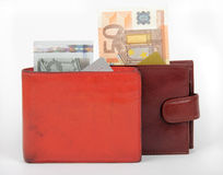 The money, poverty and wealth Stock Image