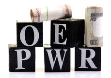 Money power Stock Images