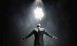 Money power Royalty Free Stock Images