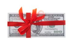 Money present Royalty Free Stock Photo