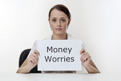 Money problems Royalty Free Stock Photos
