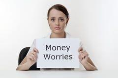 Money problems Royalty Free Stock Photos