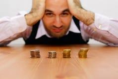 Money problems Stock Image