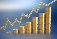 Money profit vector illustration