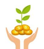 Money profits design Stock Photo