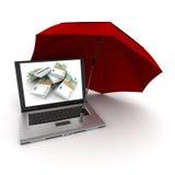 Money protection Stock Photo
