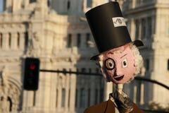 Money puppet Stock Photography