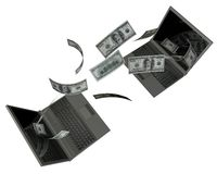 Money purchase Stock Photography