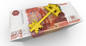 Money for the purchase of real estate Stock Photo