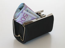Money Purse. Money and Purse Stock Images