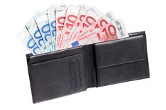 Money in a purse Stock Image