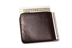 Money in purse Royalty Free Stock Image