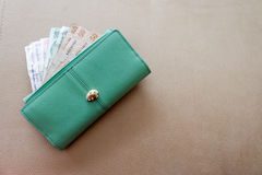 Money purse Stock Images