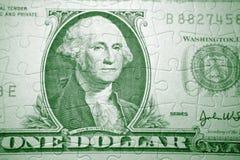 Money puzzle Royalty Free Stock Photo