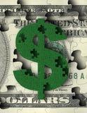 Money Puzzles Stock Photo