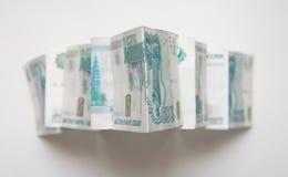 Money pyramid Royalty Free Stock Photos