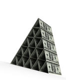 Money Pyramid (Dollar) Stock Photo