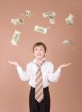 Money rain Royalty Free Stock Photo