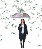 Money rain Royalty Free Stock Images